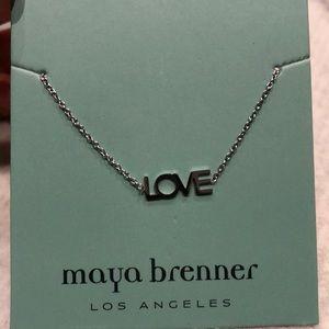 Jewelry - Maya Brenner never worn LOVE bracelet